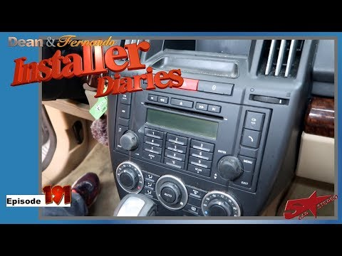 How to replace the radio in a Landrover LR2 Installer Diaries 191