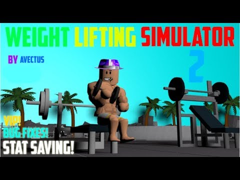 Roblox Weight Lifting Simulator 2 How To Be Small And Still Keep Your Strength (Read DESC)
