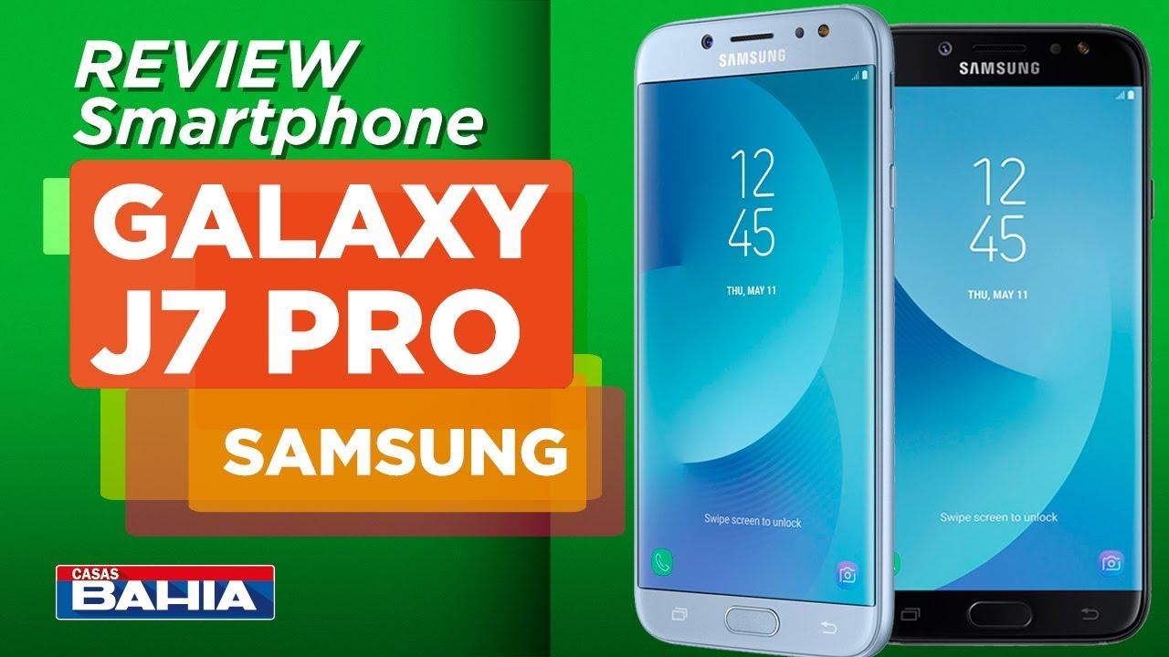 Smartphone Samsung Galaxy J7 Pro Preto com 64GB, Tela 5 5