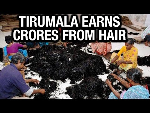 Crores from Tirumala Tirupati hair - Teenmaar News