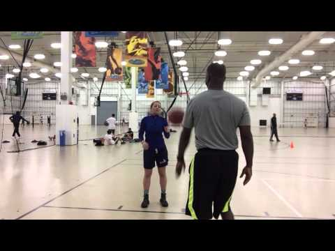 Morgan Turner Shooting Technique Workout With Basketball Addict's Dwayne Bryant