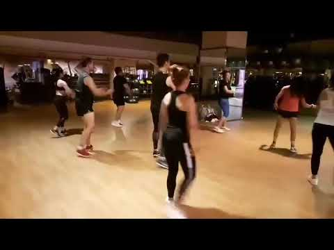 Energy Aerobic Class  Monday Evening 231017 at Celebrity fitness Plaza Indonesia Jakarta Pusat