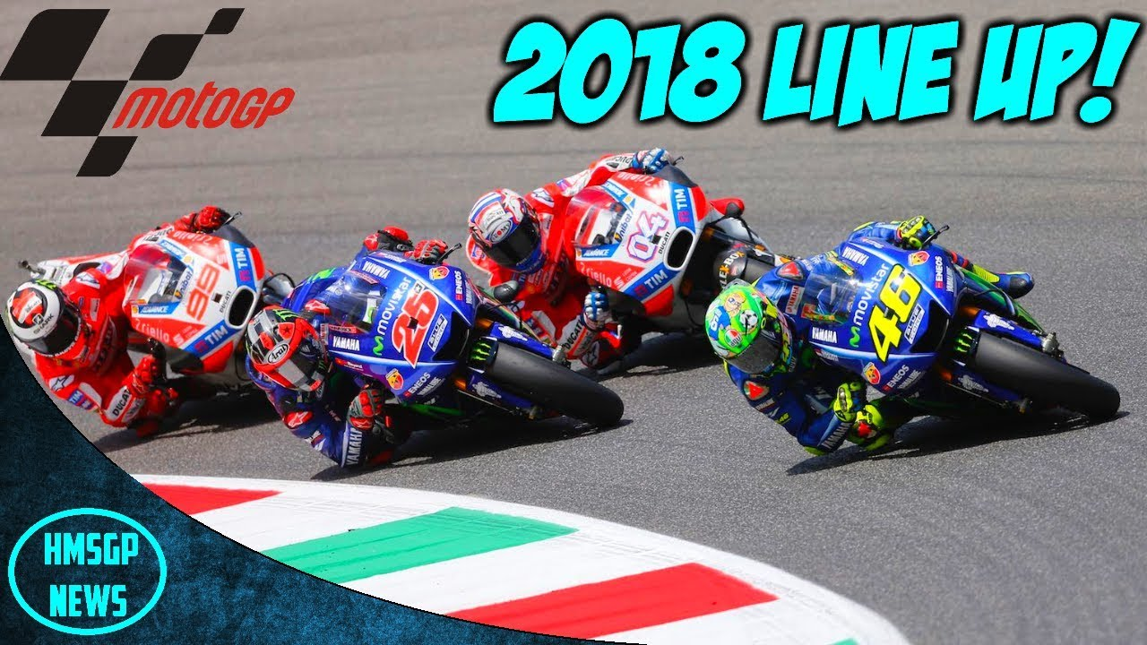 Motogp 2018 Rider Changes Youtube