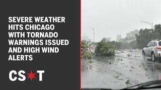 Severe weather hits chicago area with tornado warnings issued and high wind alerts