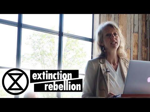 Dr Gail Bradbrook   Fir Farm 2019    Extinction Rebellion