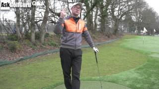 Controlling Golf Distances From 100 Yards
