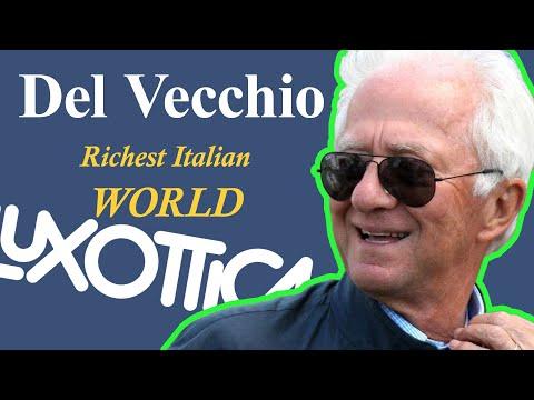RICHEST ITALIAN in the WORLD, LEONARDO Del VECCHIO | Hustle Hub BB | Billionaire Biography