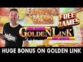 Huge bonus on golden link  double progressive jackpot at hard rock oklahoma