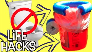 100 CRAZY Weird Life Hacks You NEVER KNEW! (DIY TOILET HACK)