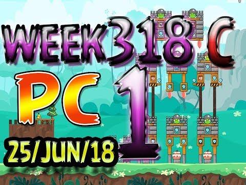 Angry Birds Friends Tournament Level 1 Week 318-C PC Highscore POWER-UP walkthrough