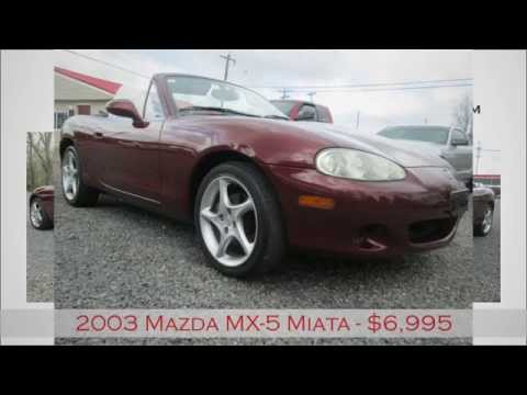 Auto Solutions Maryville Tn >> 2003 Mazda Mx 5 Miata For Sale In Maryville Tn