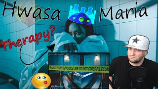 SHE NEEDS SOME HELP!! (Hwa Sa)(화사) - (Maria MV)(마리아) REACTION!!!