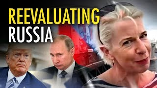 """Katie Hopkins in Russia: """"Putin is not a monster"""""""
