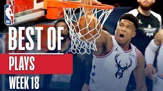 NBA's Best Plays | Week 18 Video