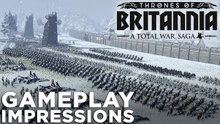 Total War Saga: Thrones of Britannia — GAMEPLAY & IMPRESSIONS!