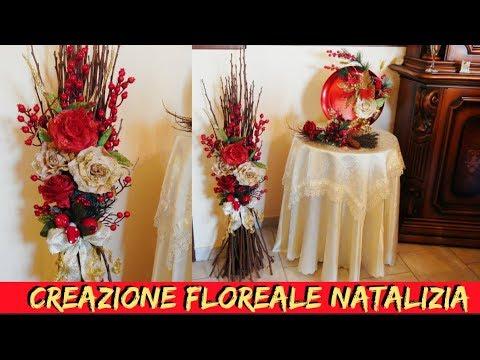 CREAZIONE FLOREALE NATALIZIA- NUNZIA VALENTI