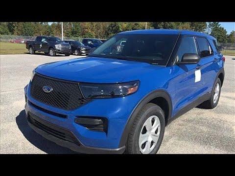 New 2020 Ford Utility Police Interceptor Elizabeth City, NC #8FA18392