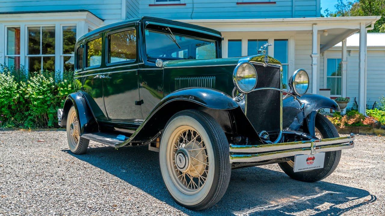 1931 Chevrolet AE Independence - Waimak Classic Cars - New Zealand ...