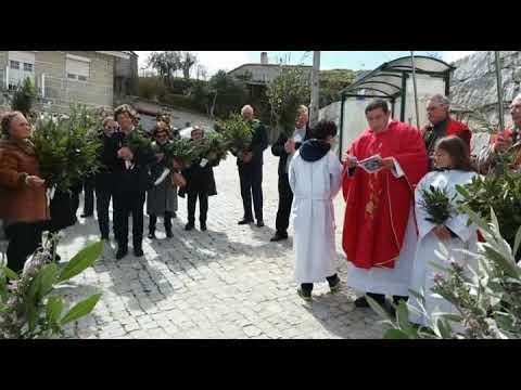 Benção dos Ramos em S. João da Fresta.