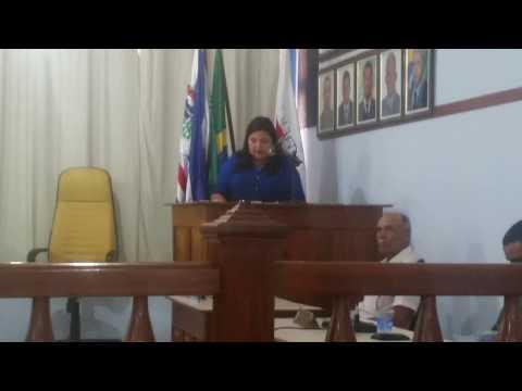 vídeo Fátima Pêgo fundadora do GERP - Instituto Social Geraldo  Rodrigues Pêgo, pede que se forme uma comissão de vereadores para acompanhar os trabalhos do GERP.