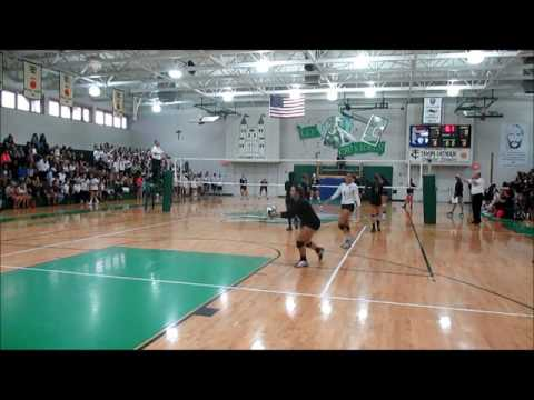 Tampa Catholic High School v. Academy of the Holy Names Varsity Volleyball 09/23/2015 - GAME 1