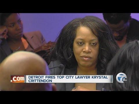 Detroit City Council fires Crittendon