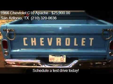 1966 Chevrolet C10 Apache Custom For Sale In San Antonio Tx Youtube
