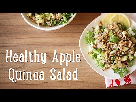 Healthy Apple Quinoa Salad [BA Recipes]