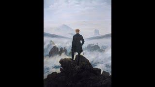 A Werther. Johann Wolfgang von Goethe. Con Brahms y Caspar David Friedrich