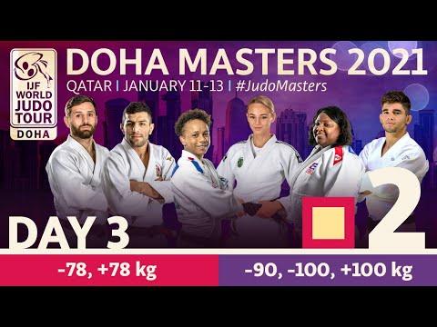 Day 3 - Tatami 2: Doha World Judo Masters 2021