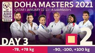 Day 3 - Tatami 2: Doha World Judo Masters 2021