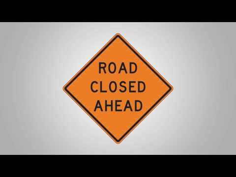 Morgantown Easton Hill Road Closure Video