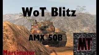 AMX 50B 6200 dmg Ace | WoT Blitz