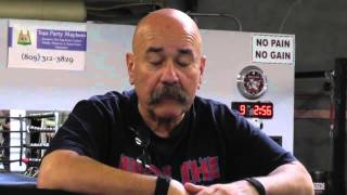 trainer talks of pro fighter shot and killed not long ago EsNews Boxing
