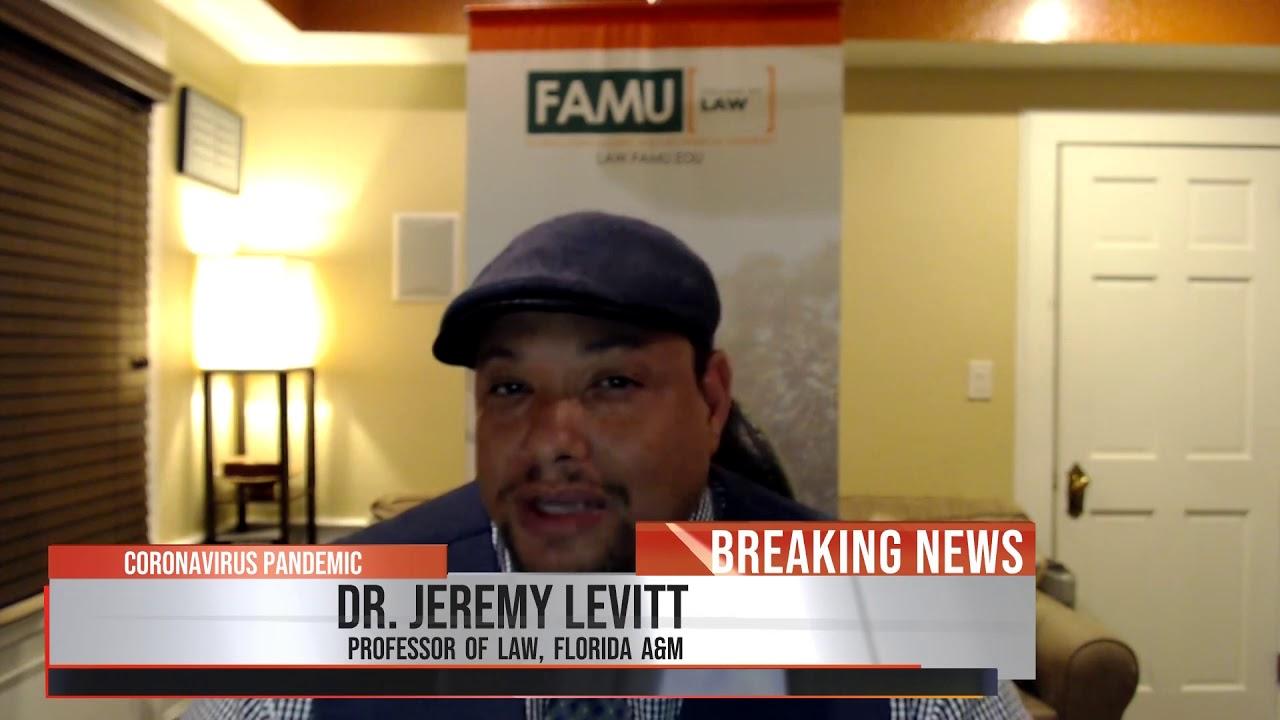 FAMU's Dr. Jeremy Levitt discusses COVID impact on White House race
