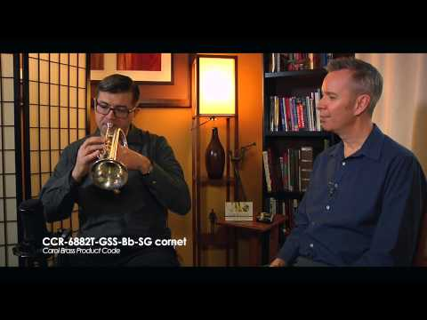 Episode 9 - Carol Brass Dealer Jim Bohm discusses with Tim Clarke Cornet CCR 6882T GSS Bb SG