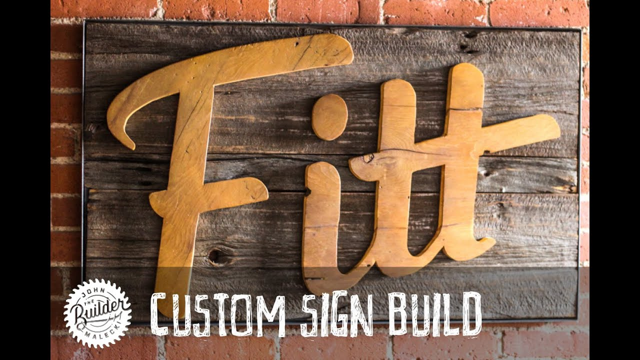 73e17c22d00d9 How To Make A Custom Industrial Reclaimed Barn Wood Sign