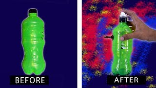 How to make simple air paint Spray Easily at Home | Make Gadget