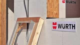 Wurth in Casa21 posa serramento sistema telaio capitolo 1