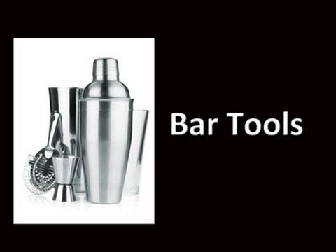 Cocktail Bar Tools And Equipment