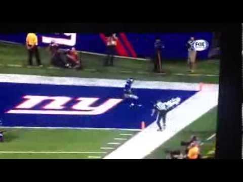 Reggie Wayne CRAZY Touchdown Catch VS Giants 8/18/13