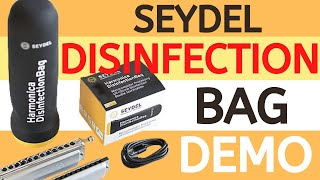 Seydel Harmonica Disinfection Bag Demo