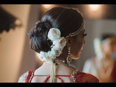 Bridal Bun Hairstyles 2019 Wedding Hairstyles Indian Brides Youtube