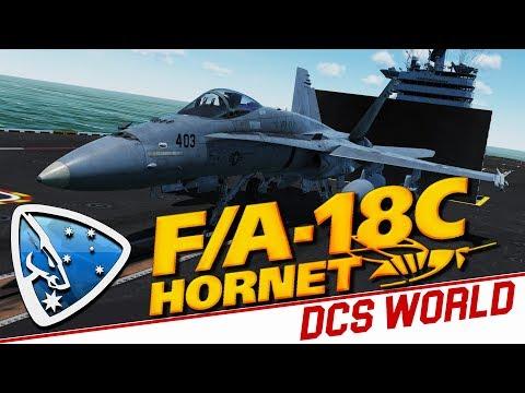 DCS World 2.5: F/A-18C Hornet (Alpha Access)