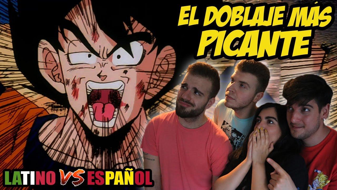 ESPAÑOLES REACCIONAN A DRAGON BALL LATINO VS ESPAÑOL VS PORTUGUES |💥LAS FUERZAS ESPECIALES GINYU💥