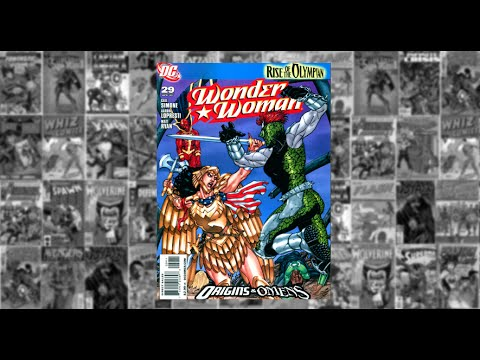 "Wonder Woman: vol 3 #29, Rise of The Olympian:  Part Four,"" A changed World"""