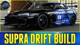 forza 5 drift build toyota supra drift build