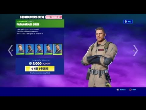 who you going to call ghostbusters arrive at fortnite youtube youtube