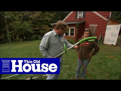 How to Use a String Trimmer - This Old House