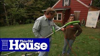 How to Use a String Trimmer - This Old House thumbnail